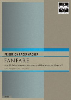 Radermacher - Fanfare for 3 trpts and 2 Trbs