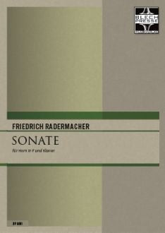 Radermacher - Sonata for Horn and Piano