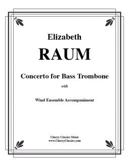 Raum - Concerto for Bass Trombone with Wind Ensemble