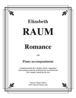 Raum – Romance for Alto Saxophone and Piano