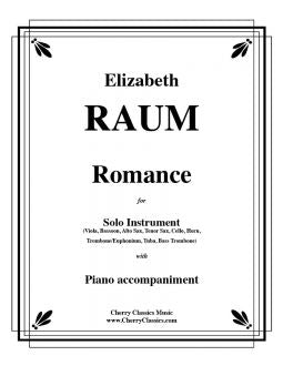 Raum - Romance - Bass Trombone and Piano