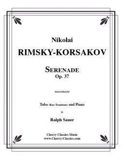 Rimsky-Korsakov – Serenade, Op. 37 for Tuba and Piano