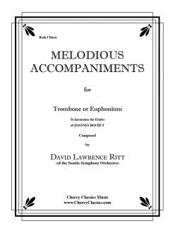 Bordogni - Melodious Accompaniments for Trombone and Euphonium