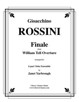 Rossini – Finale from William Tell Overture for 6-part Tuba Ensemble