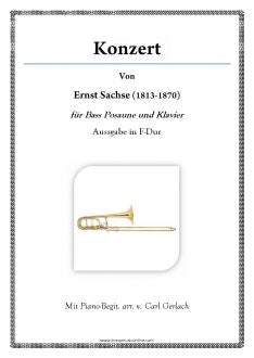 Sachse - Concert for Bass Trombone and Piano