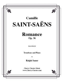 Saint-Saëns - Romance, Opus 36 for Trombone and Piano