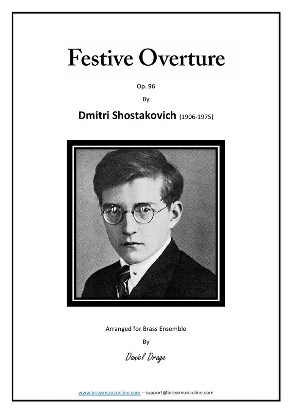 Schostakovitch - Festive Overture for Brass Ensemble