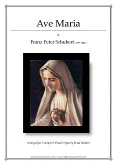 Schubert - Ave Maria - Trumpet and Piano/Organ