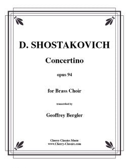 Shostakovich - Concertino for 10 piece Brass Choir