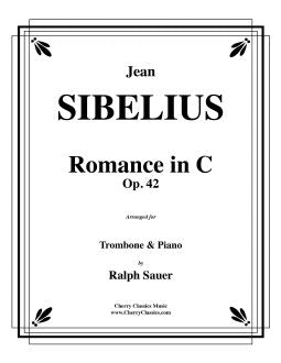 Sibelius – Romance in C, Opus 42 for Trombone and Piano