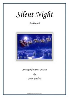 Silent Night - Brass Quintet