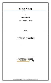 French Carol - Sing Noel - Brass Quartet
