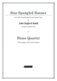 Smith - Star Spangled Banner - Brass Quartet