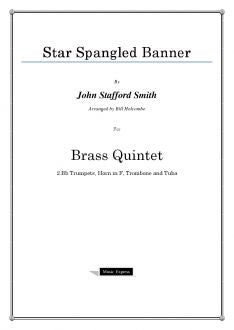 Smith - Star Spangled Banner - Brass Quintet