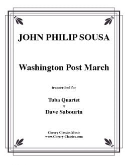 Sousa – Washington Post March for Tuba Quartet