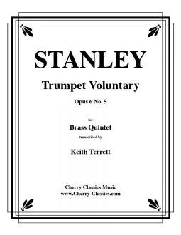Stanley - Trumpet Voluntary for Brass Quintet