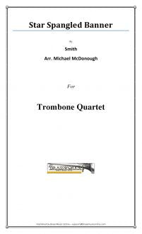 Smith - Star Spangled Banner - Trombone Quartet