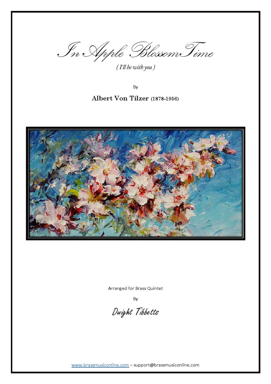 In Apple Blossom Time - Brass Quintet