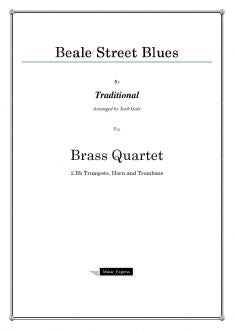 Traditional - Beale Street Blues - Brass Quartet