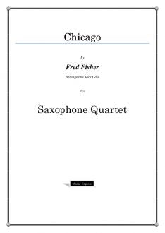 Traditional - Chicago - Saxophone Quartet