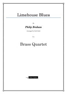 Traditional - Limehouse Blues - Brass Quartet