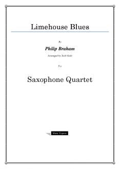 Traditional - Limehouse Blues - Saxophone Quartet