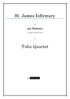 Traditional - St. James Infirmary - Tuba Quartet