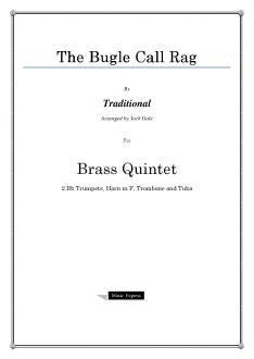 Traditional - The Bugle Call Rag - Brass Quintet