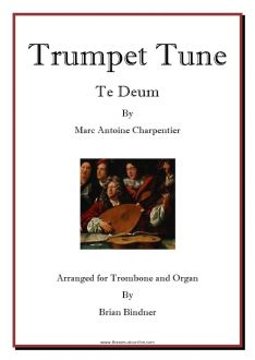 Trumpet Tune for Trombone and Organ