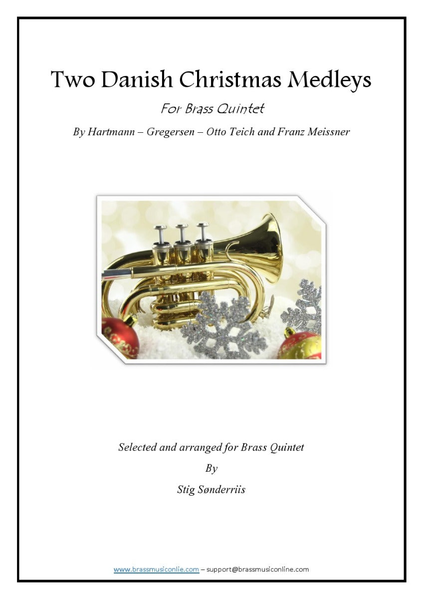 Two Danish Christmas Medleys for Brass Quintet