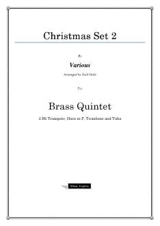 Various - Christmas Set 2 - Brass Quintet