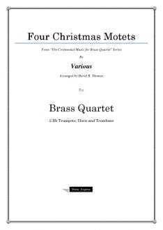 Various - Four Christmas Motets - Brass Quartet