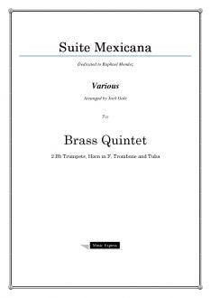 Various - Suite Mexicana - Brass Quintet