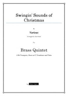 Various - Swingin' Sounds of Christmas - Brass Quintet