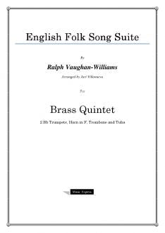 Vaughan-Williams - English Folk Song Suite - Brass Quintet