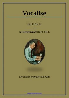 Rachmaninoff Vocalise - Piccolo Trumpet and Piano