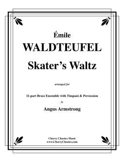 Waldteufel – Skater's Waltz for 11-part Brass Ensemble with Timpani & Percussion