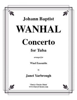 Wanhal – Concerto for Tuba and Wind Ensemble