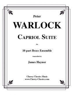Warlock – Capriol Suite for ten (10) part Brass Choir