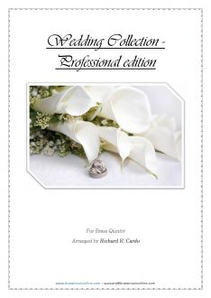 Wedding Collection - Professional edition - Brass Quintet