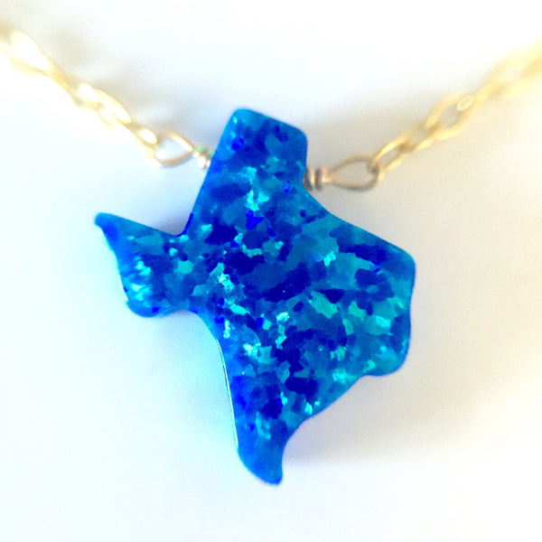 Fire Opal Texas Necklace