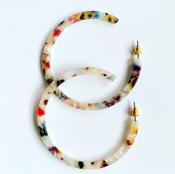 Large Resin Hoops