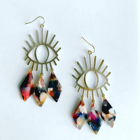 Flashy Lashy Earrings