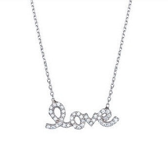 Sterling Love Necklace