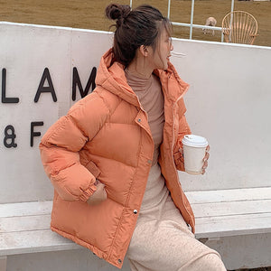 Fashion Warm Thick Winter Jacket Women