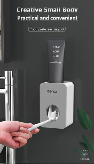 Nordic Inspired Automatic Toothpaste Dispenser