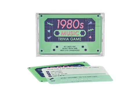 1980's Music Trivia Game