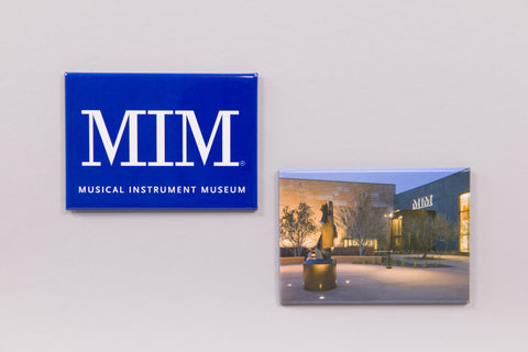 MIM Logo and Photograph Magnets