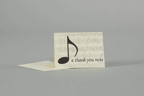 """A Thank You Note"" Note Cards"