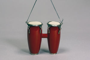 Double Conga-Drum Ornament